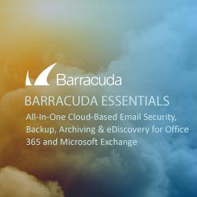 barracuda essentials eShot