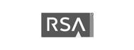rsa logo grey